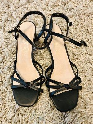 Sandaletten mit blockabsatz neu