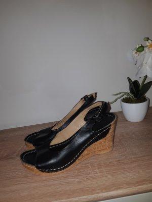 Sandaletten mit Keilabsatz