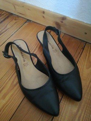 Sandaletten mit kleinem Absatz