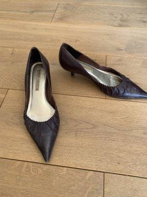 Sandaletten mit Miniabsatz Gr. 40