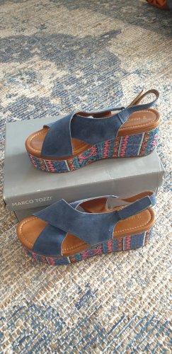 Sandaletten mit Pailletten