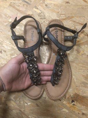 Today T-Strap Sandals multicolored