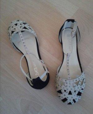 Sandaletten mit Strass