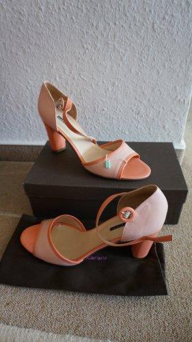 Sandaletten/ Peeptoe Schuhe. Neu mit Etikett *Daniele Arcani* Made in Italy