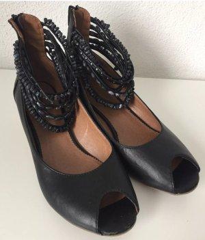 Sandaletten Peeptoes Graceland Gr. 39 schwarz