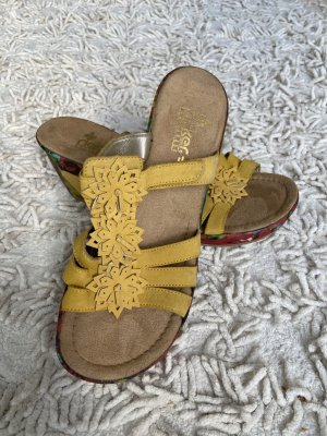 Rieker High Heel Sandal multicolored