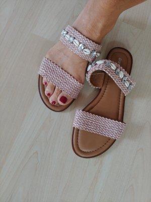 Sandaletten rose 40