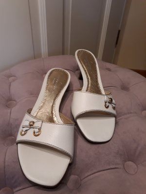 Sandaletten von Daniel Hechter - unbenutzt - Gr. 38 -cremeweiss