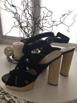 Sandaletten von GUESS  , Gr .40 , schwarz  , neu