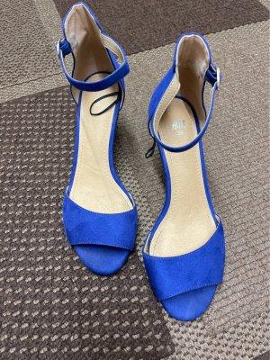 H&M High Heel Sandal blue