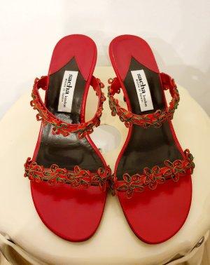 Sandaletten von Sacha London gr. 38 Leder