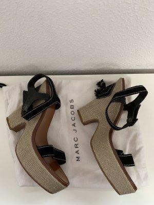 Marc Jacobs Plateauzool sandalen zwart