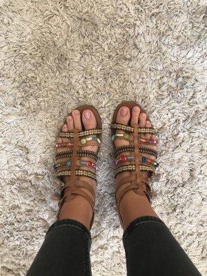 Tamaris Romeinse sandalen bruin
