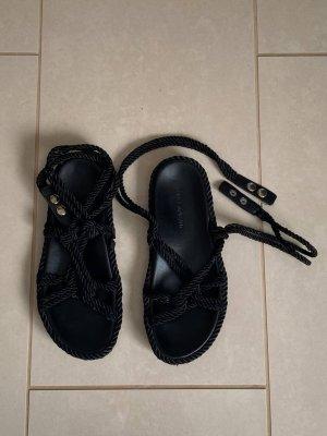 Isabel Marant Sandalo outdoor nero