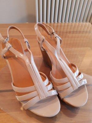 Platform Sandals light brown-pink