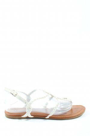 Sandalup Sandalias Dianette blanco look casual
