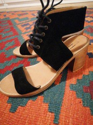 5th Avenue Sandalo con plateau nero-marrone chiaro