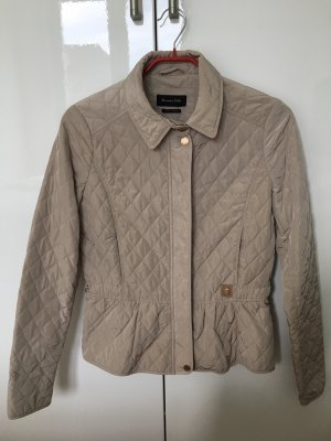 Massimo Dutti Waxed Jacket sand brown