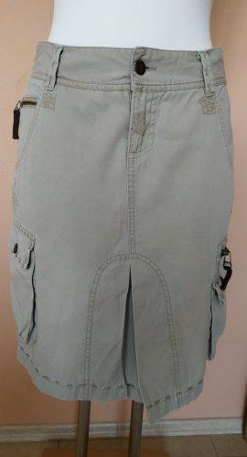 Kenvelo Jupe cargo beige coton