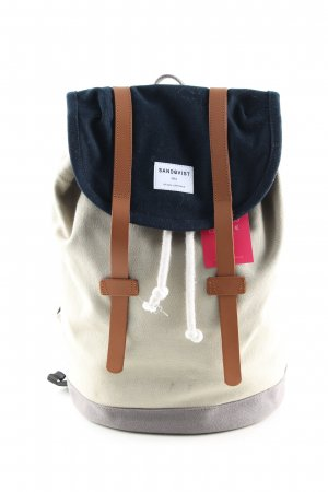 Sandqvist School Backpack multicolored casual look