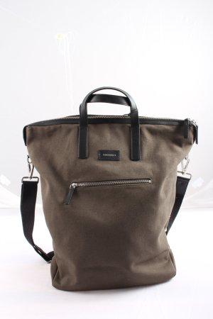 Sandqvist Shopper bronzefarben-schwarz Casual-Look