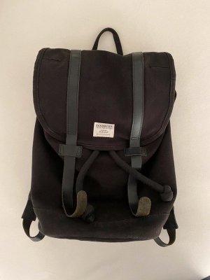 Sandqvist Stig Rucksack Backpack Large Schwarz Skandi XXL Laptopfach