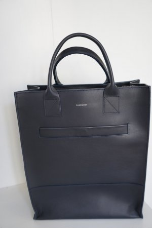 Porterbello Leather Borsa A Tracolla Valigetta Borsa per Laptop