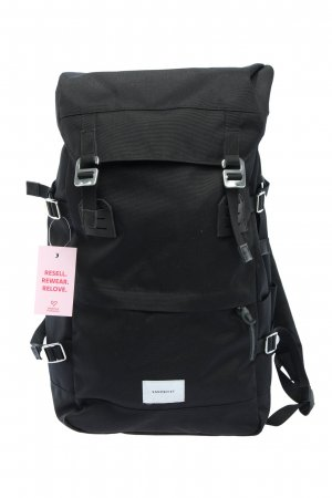 Sandqvist Trekking Backpack black casual look
