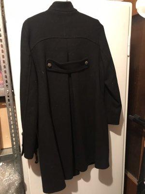 Sandro Paris Abrigo de lana negro