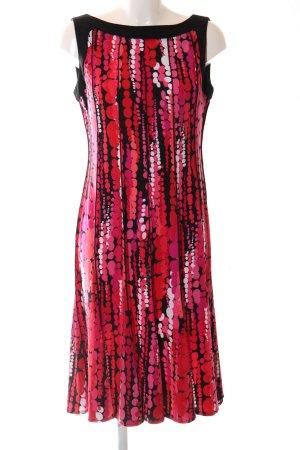 Sandra Darren A-Linien Kleid abstraktes Muster Casual-Look