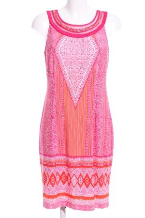Sandra Darren Trägerkleid pink abstraktes Muster Casual-Look