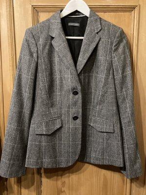 Sandra Pabst Blazer Tweed blanco-negro