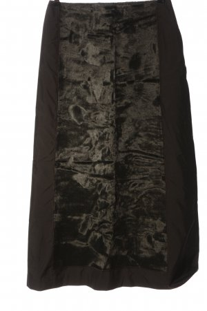 Sandra Pabst High Waist Skirt black-natural white casual look