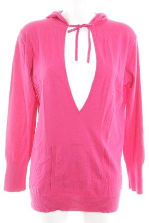 Sandra Pabst Kapuzenpullover pink Casual-Look