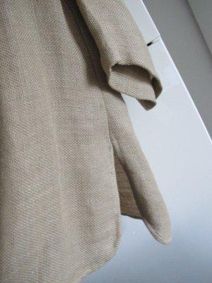 Sandra Pabst Blusa in lino sabbia-color cammello Lino