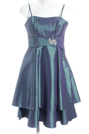 Sandri Line Abendkleid petrol Elegant