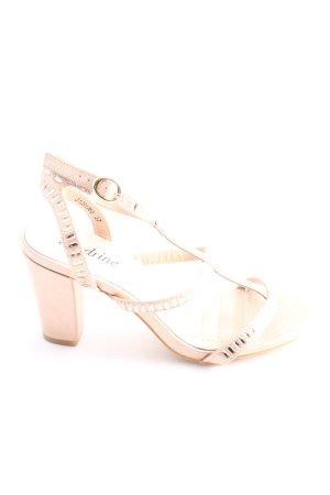 Sandrine High Heel Sandaletten pink-creme Elegant
