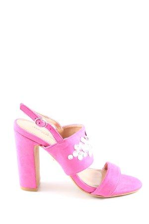 Sandrine High Heel Sandaletten pink Elegant