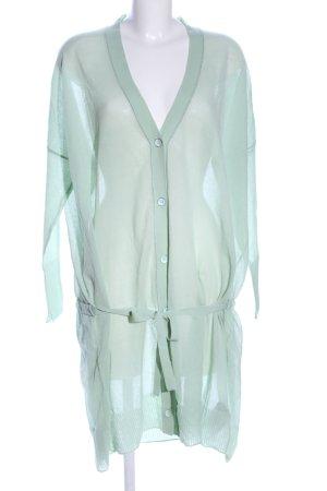 Sandrine Oversized Jacke türkis Business-Look