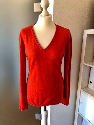 Sandrine Pullover rot 38 Seide Kaschmir