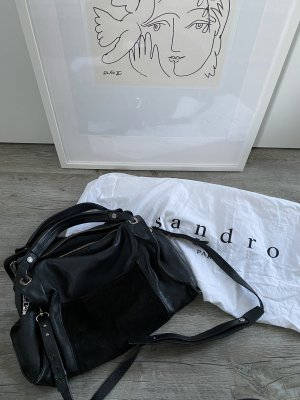 Sandro Amance Leather Bag
