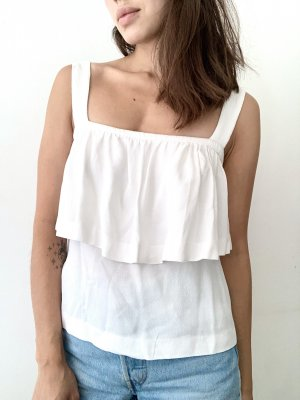 Sandro | Cropped Volant-Top