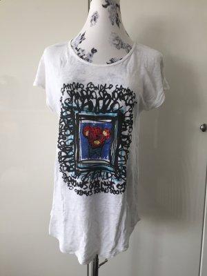 Sandro Druck T-Shirt