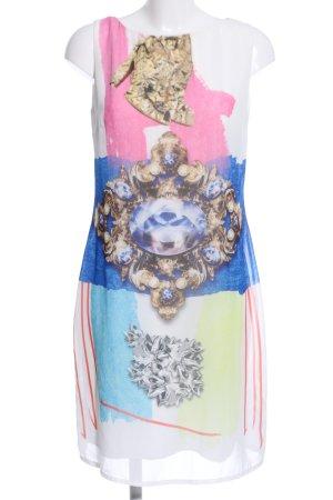 Sandro Ferrone Minikleid Motivdruck Casual-Look