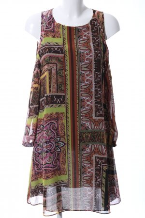 Sandro Ferrone schulterfreies Kleid abstraktes Muster Casual-Look