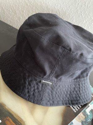 Sandro Paris Beret black-blue cotton