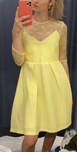 Sandro Gelb Kleid neu mit Etikett NP: 225€ Gr. 38/M