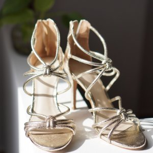 Sandro high heels limited edition - used only once