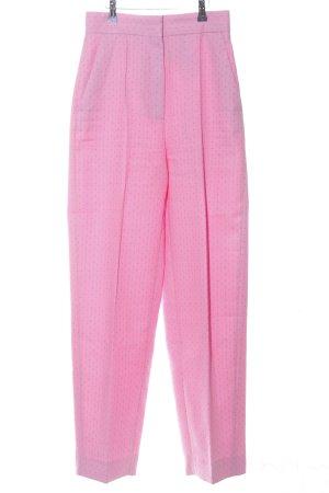 Sandro Hoge taille broek roze volledige print casual uitstraling