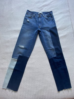 Sandro Jeans a vita alta blu-azzurro